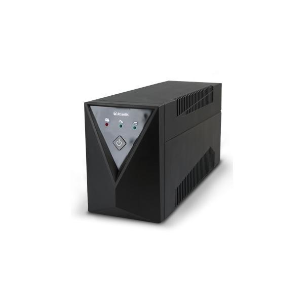 Atlantis Land OnePower Sx80 A linea interattiva 600VA 1AC outlet(s) Mini tower Nero gruppo di continuità (UPS) 8026974008943 A03-SX80 10_R290688