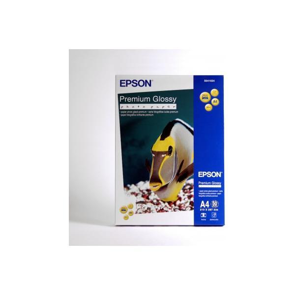 Epson Premium Glossy Photo Paper - A4 - 50 Fogli