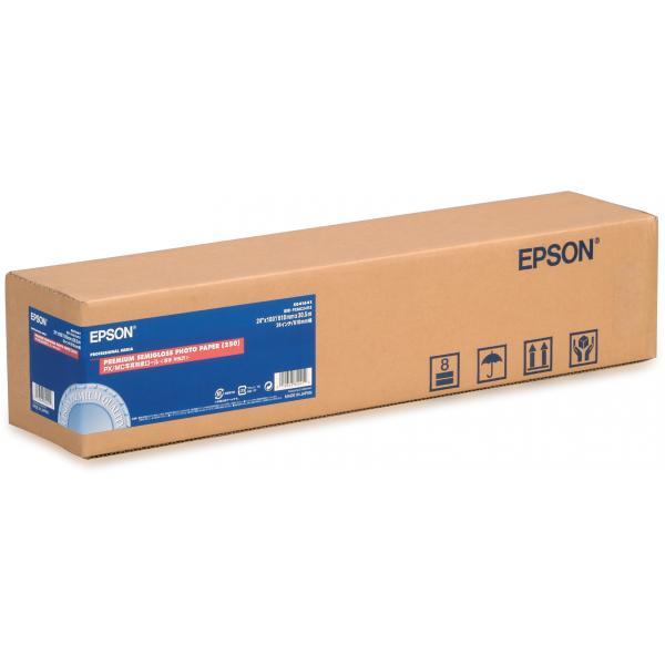 Epson Carta fotografica semilucida Premium (250), in rotoli da 60, 96cm (24'') x 30, 5m. 0010343842212 C13S041641 TP2_C13S041641