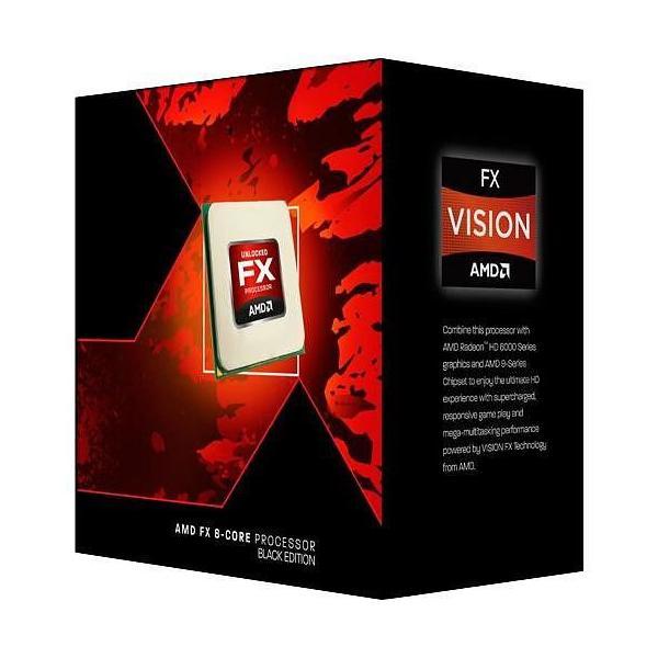 AMD FX 8320E Black Edition 3.2GHz 8MB L3 Scatola processore 0730143305297 FD832EWMHKBOX 10_B960925