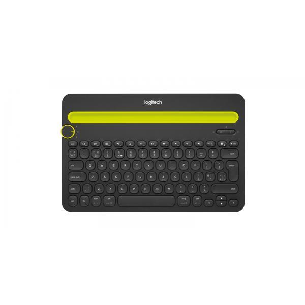 TASTIERA LOGITECH WIRELESS BLUETOOTH MULTI-DEVICE K480 - compatibile con tablet e smartphone