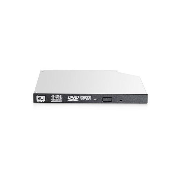 Hewlett Packard Enterprise 9.5mm SATA DVD-RW JackBlack Gen9 Optical Drive Interno DVD Super Multi DL Nero, Grigio lettore di disco ottico 0888182015513 726537-B21 TP2_726537-B21