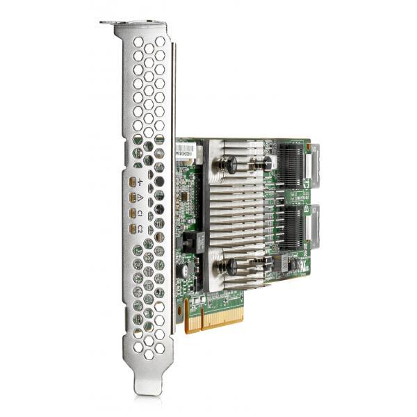 Hewlett Packard Enterprise H240 12Gb 2-ports Int Smart Host Bus Adapter PCIe controller RAID 4514953615564 726907-B21 10_943BZAS