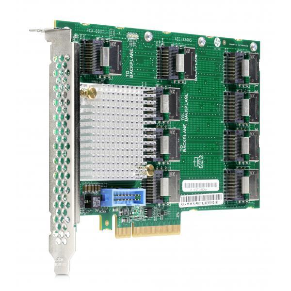 Hewlett Packard Enterprise 727250-B21 Interno SAS scheda di interfaccia e adattatore 0887758394496 727250-B21 03_727250-B21