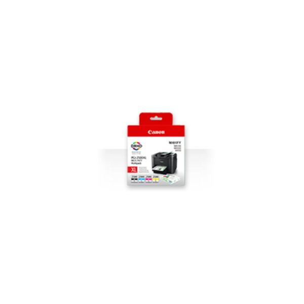 Canon PGI-2500XL C/M/Y/BK Nero, Ciano, Giallo cartuccia d'inchiostro 8714574623191 9254B004 COM_23815