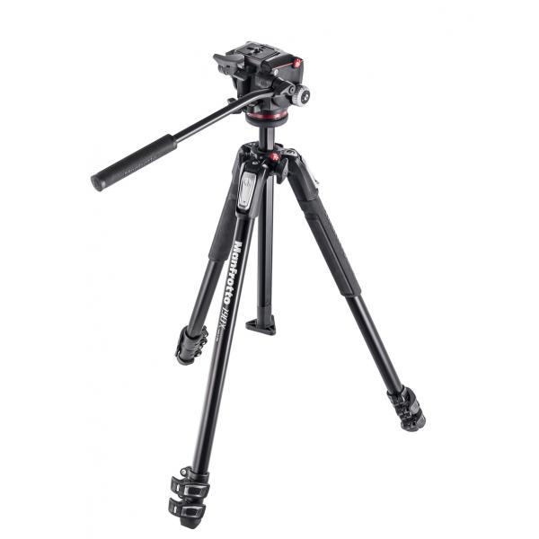 Manfrotto MK190X3-2W Fotocamere digitali/film Nero treppiede 8024221635942 MK190X3-2W 08_MK190X3-2W