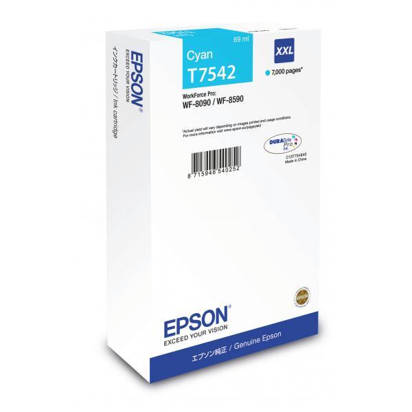 Epson C13T754240 Ciano cartuccia d'inchiostro 8715946540252 C13T754240 10_235H314