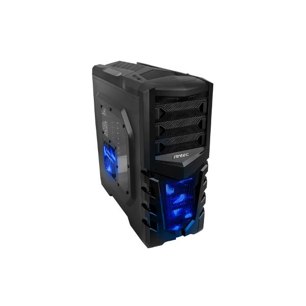 Antec GX505 Window Blue Midi-Tower Nero, Blu vane portacomputer 0761345155052 0-761345-15505-2 10_L741118