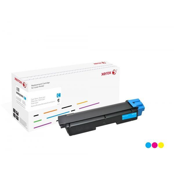 Xerox Xerox Cartuccia toner ciano. Equivalente a Kyocera TK-590C. Compatibile con Kyocera FS-C2026, FS-C2126, FS-C2526, FS-C2626, FS-C5250
