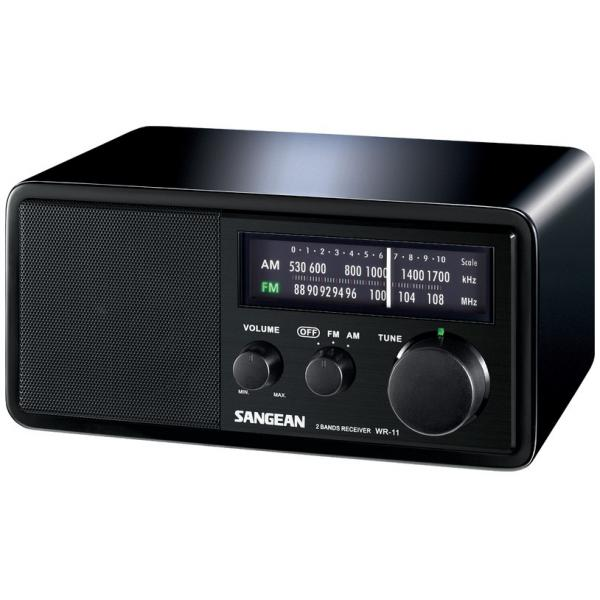 SANGEAN-WR-11-ANALOGICO-7W-NERO-RICEVITORE-RADIO-S298901