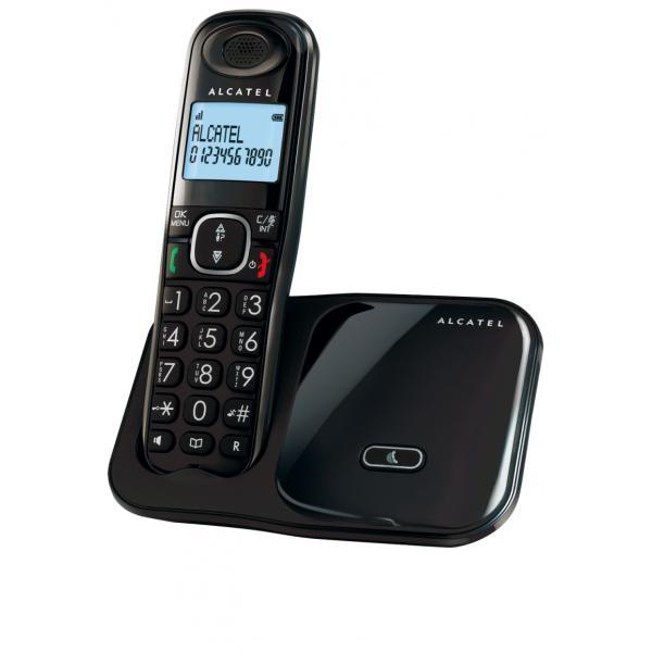 Alcatel XL280 DECT Identificatore di chiamata Nero 3700601411553  02_S0401223