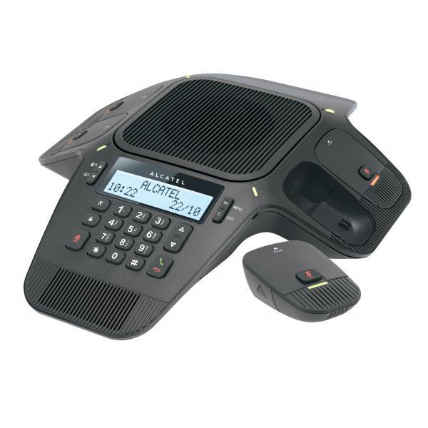 Alcatel Conference 1800 Telefono DECT Nero Identificatore di chiamata