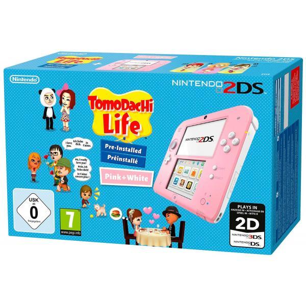 Nintendo 2DS + Tomodachi Life 3.53