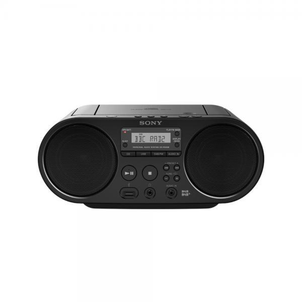 RADIO C/CD 2+2W DAB USB AUX NERO