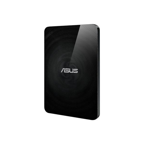 ASUS 1TB Wireless Duo disco rigido esterno 1000 GB Wi-Fi Nero
