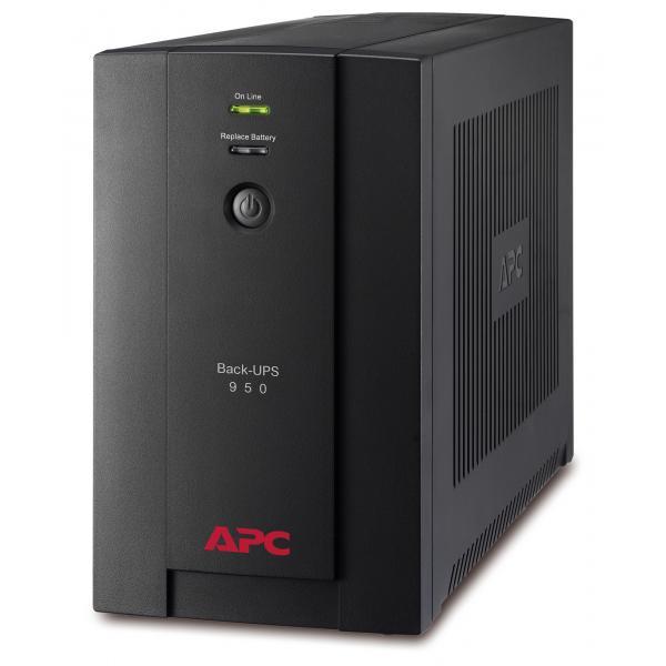 APC Back-UPS A linea interattiva 950VA Torre Nero gruppo di continuità (UPS) 0731304315988 BX950U-GR 10_270B235