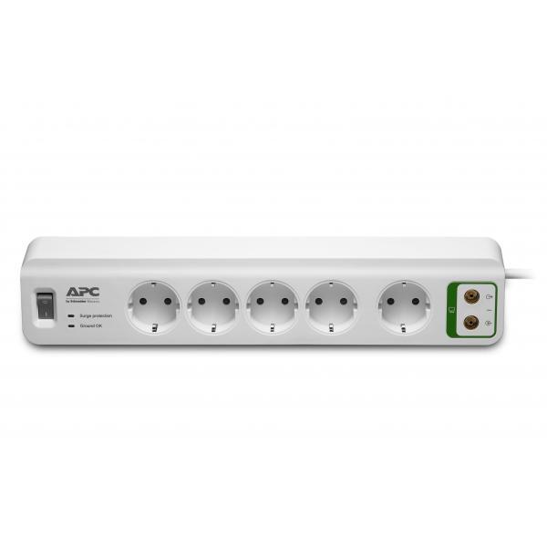 APC PM5V-GR 5AC outlet(s) 230V 1.83m Bianco protezione da sovraccarico 0731304313700 PM5V-GR 10_270B245