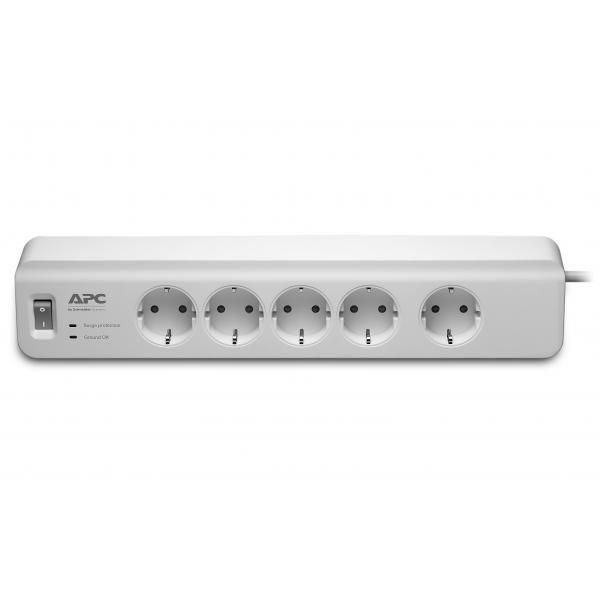 APC PM5-GR 5AC outlet(s) 230V 1.83m Bianco protezione da sovraccarico 0731304313120 PM5-GR 10_270B242