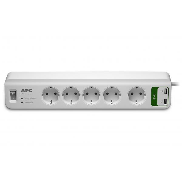 APC PM5U-GR 6presa(e) AC 230V 1.83m Bianco protezione da sovraccarico 0731304313748 PM5U-GR 10_270B241