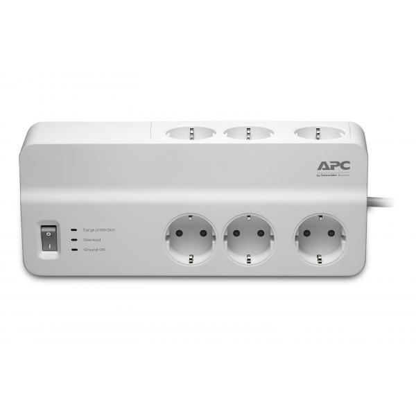 APC APC PM6-GR protezione da sovraccarico 6 presa(e) AC 230 2 m Bianco