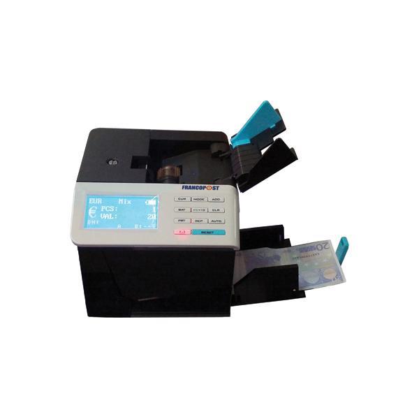 Francopost MyCUBE Banknote counting machine Nero, Bianco  CB020 08_CB020