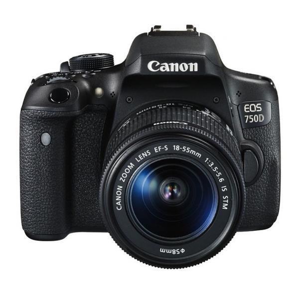 Canon EOS 750D + EF-S 18-55mm Kit fotocamere SLR 24.2MP CMOS 6000 x 4000Pixel Nero 8714574627946 0592C022 08_0592C022