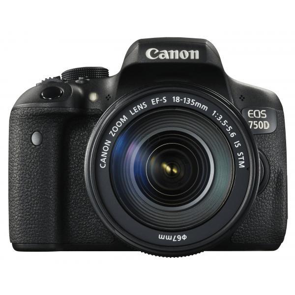 Canon EOS 750D + EF-S 18-135mm Kit fotocamere SLR 24.2MP CMOS 6000 x 4000Pixel Nero 8714574628219 0592C029 08_0592C029