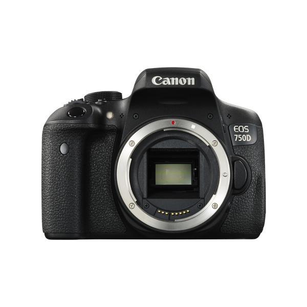 Canon EOS 750D Corpo della fotocamera SLR 24.2MP CMOS 6000 x 4000Pixel Nero 8714574627823 0592C015 08_0592C015