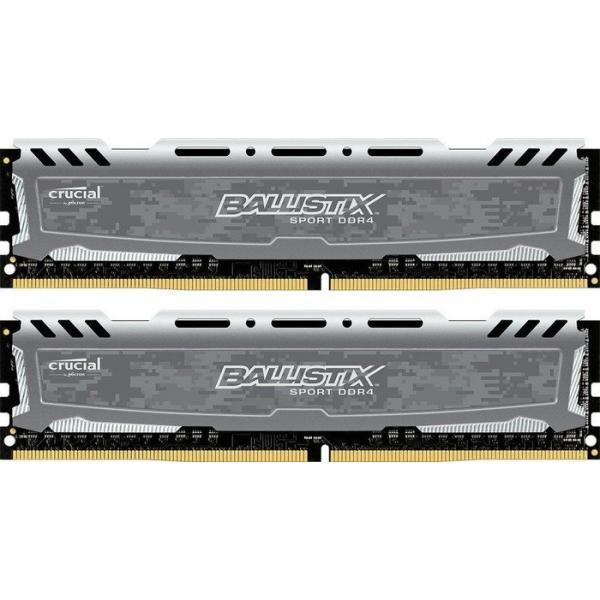 Crucial 8GB DDR4 8GB DDR4 2400MHz memoria 649528771353 BLS2C4G4D240FSB 07_38289