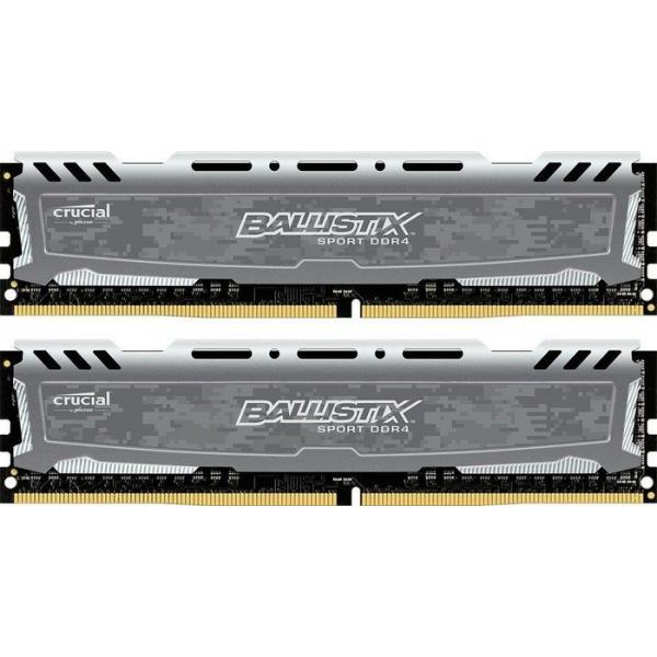 Crucial 16GB DDR4 16GB DDR4 2400MHz memoria 0649528771360 BLS2C8G4D240FSB 07_37167