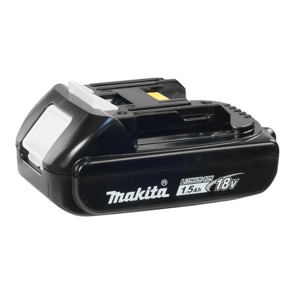 Makita BL1815N Ioni di litio 1500mAh 18V batteria ricaricabile 0088381417556 196235-0 04_90549305