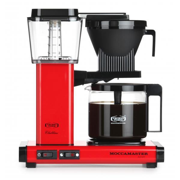 Moccamaster KBG 741 AO caffè rossa 59672