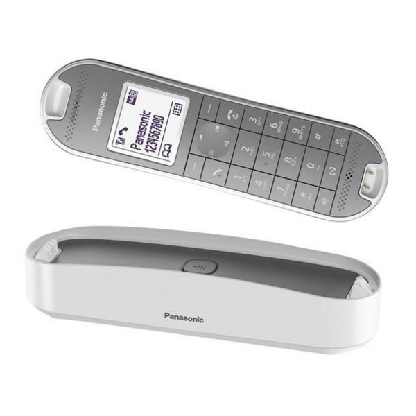 Panasonic KX-TGK320GW schnurloses DECT Designtelefon weiß