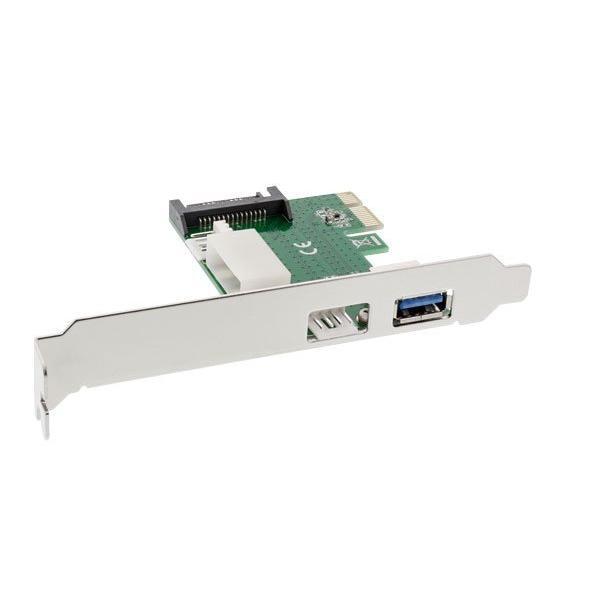 InLine Scheda espansione Bus da 1x PCIe a 2x PCIe (PCI-Express)