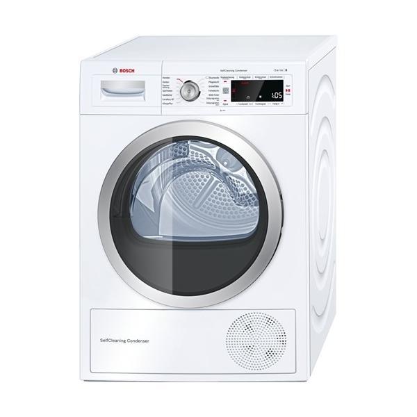Bosch Serie 8 WTW875W0 Libera installazione Carica frontale 8kg A+++ Bianco asciugatrice 4242002852096 WTW875W0 04_90594753