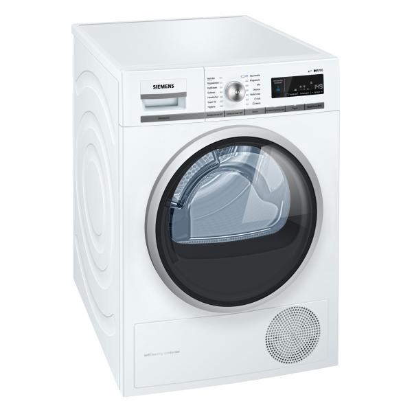 Siemens WT47W5W0 Libera installazione Carica frontale 8kg A+++ Bianco asciugatrice 4242003699638 WT47W5W0 04_90596489