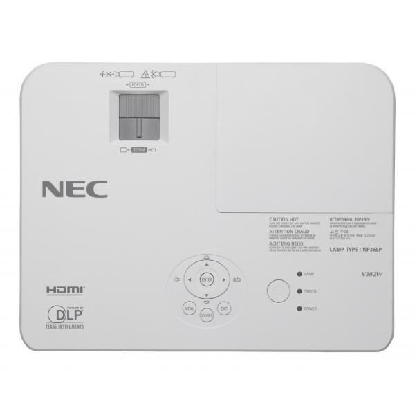 NEC V302X Proiettore desktop 3000ANSI lumen DLP XGA (1024x768) Compatibilità 3D Bianco videoproiettore 5028695611726 60003893 10_3968890 5028695611726 60003893