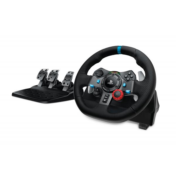 Logitech G G29 Sterzo + Pedali Playstation 3,PlayStation 4 Analogico USB 2.0 Nero