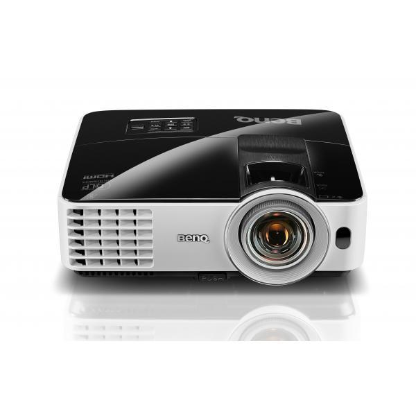 Benq MX631ST Proiettore desktop 3200ANSI lumen DLP WXGA (1280x800) Compatibilità 3D Nero, Bianco videoproiettore 4718755059001 9H.JE177.13E 10_M352764