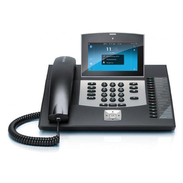Auerswald COMfortel 3600 IP telefono IP Nero Cornetta cablata LCD