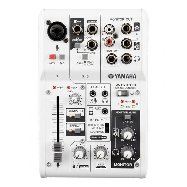 AG03 Mixer 3 canali multi-funzione con interfaccia audio USB.