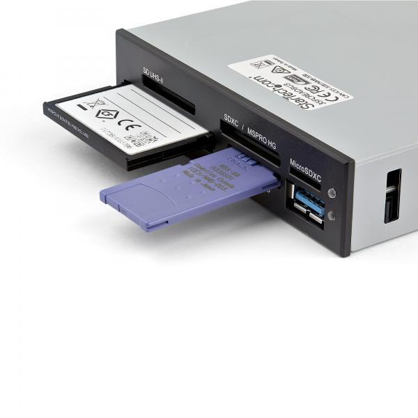 Lettore interno di Schede memoria Flash USB 3.0 con supporto UHS-II