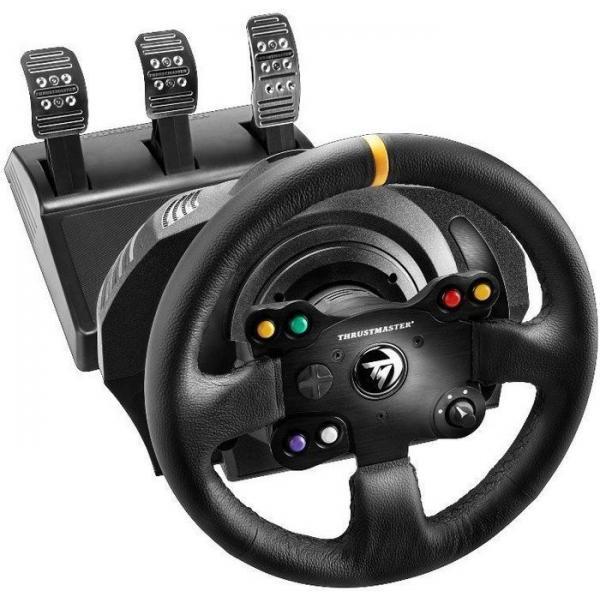 Thrustmaster 4460133 periferica di gioco Sterzo + Pedali PC, Xbox One Nero