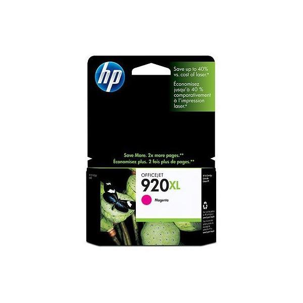 HP 920XL Magenta inktcartridge, HP 920 Officejet Ink Cartridges Magenta - CD973A