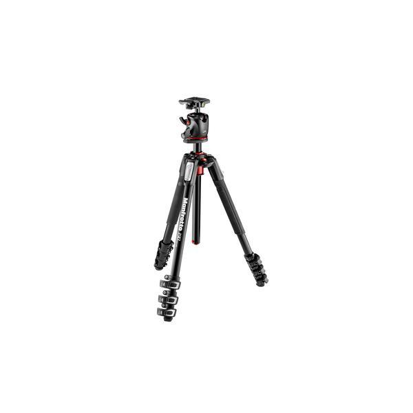 Manfrotto MK190XPRO4-BHQ2 Fotocamere digitali/film 3gamba/gambe Nero treppiede 8024221635591 MK190XPRO4-BHQ2 08_MK190XPRO4-BHQ2
