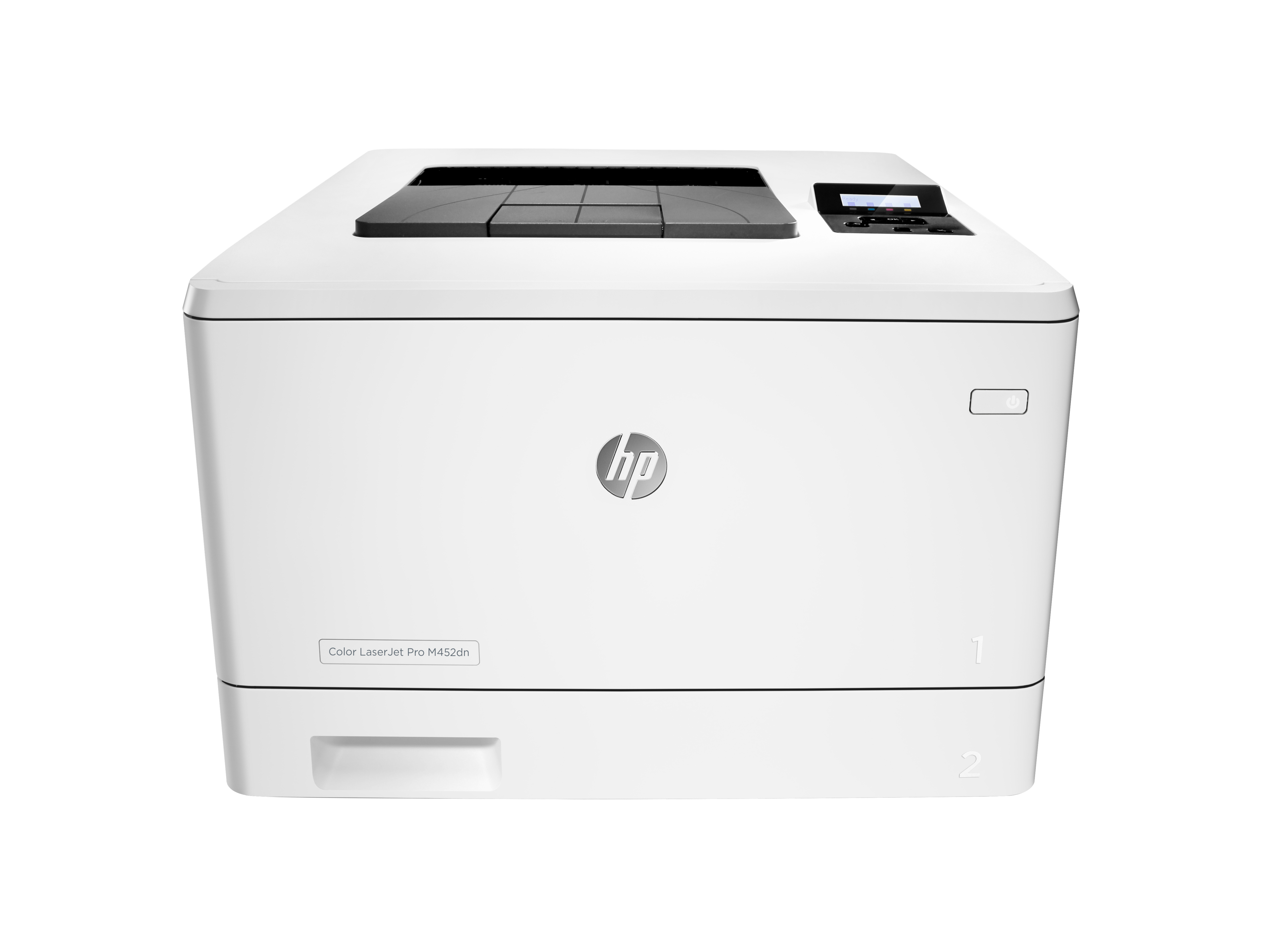 HP Color LaserJet Pro M452dn Printer 27ppm A4/28ppm Letter color laser printer wth auto-duplex printing and network built in HP Color LJ Pro M452dn Prntr:EUR - CF389A#B19