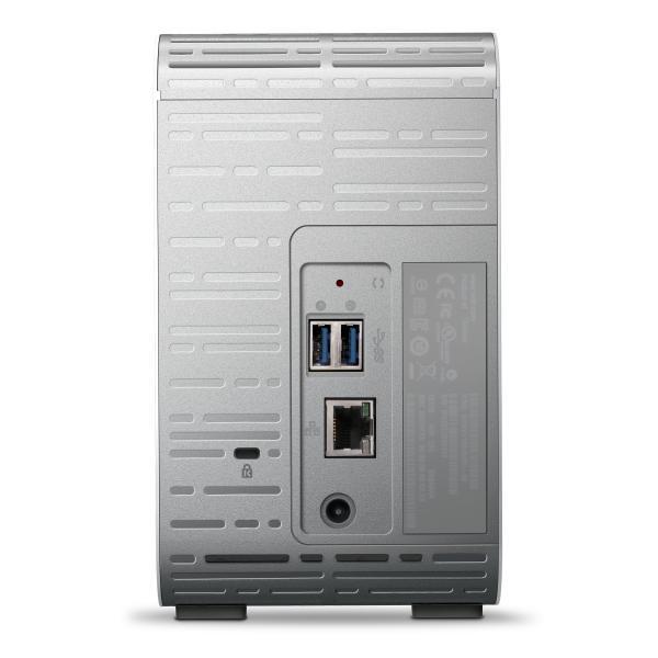 Western Digital My Cloud Mirror 4TB Collegamento ethernet LAN Bianco dispositivo di archiviazione cloud personale WDBWVZ0040JWT-EESN