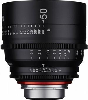 Samyang Xeen 50mm T1.5 (PL Mount) - SPEDIZIONE 8/10 GIORNI