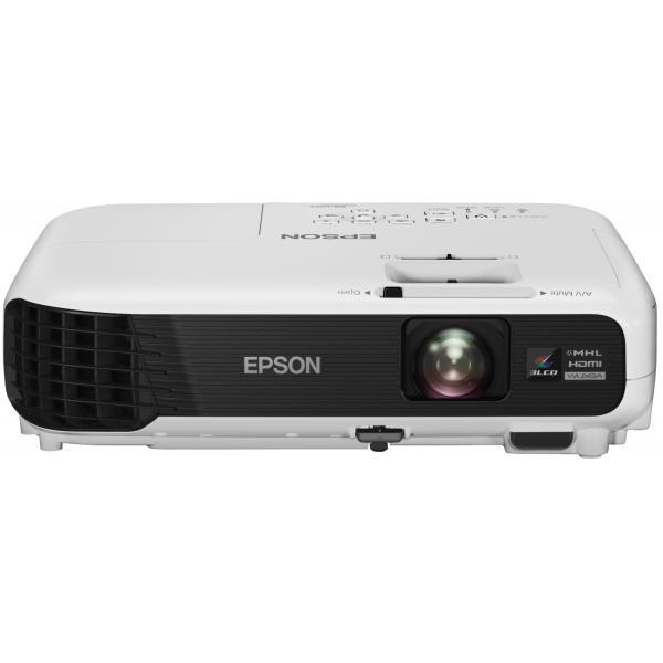 Epson EB-U04 Proiettore portatile 3000ANSI lumen 3LCD WUXGA (1920x1200) Bianco videoproiettore 8715946601311 V11H763040 04_90618529