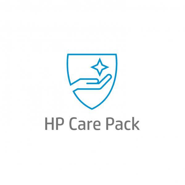 HP Inc Electronic HP Care Pack Next Business Day Hardware Support with Defective Media Retention - Serviceerweiterung - Arbeitszeit und Ersatzteile - 3 Jahre - Vor-Ort - 9x5 - Reaktionszeit: am n�chsten Arbeitstag - f�r Color LaserJet Managed M577, LaserJet Managed MFP M527, LaserJet Managed Flow MFP M527 (U8TW4E)
